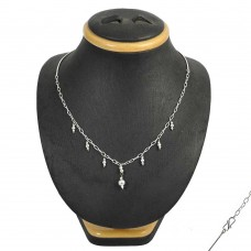 Bloom Fashion 925 Sterling Silver Necklace Jewellery