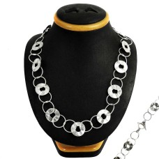 Charming 925 Sterling Silver Necklace Jewellery