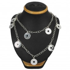 Daily Wear 925 Sterling Silver Necklace Jewellery