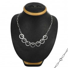 Handmade 925 Sterling Silver Necklace Jewellery