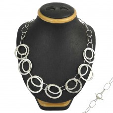 Melodious 925 Sterling Silver Necklace Jewellery