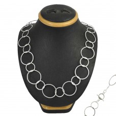 Natural 925 Sterling Silver Necklace Jewellery