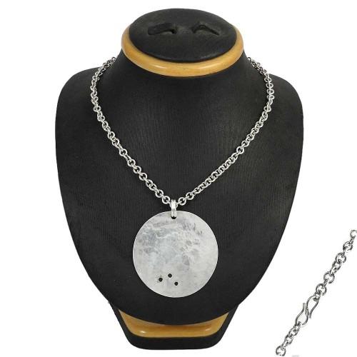 Interesting 925 Sterling Silver Necklace Jewellery Al por mayor