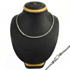 My Sweet 925 Sterling Silver Snake Chain Necklace Jewellery