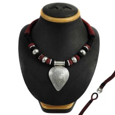 New Style Bohemian 925 Sterling Silver Thread Necklace