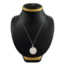 Women Fashion 925 Sterling Silver Chain Necklace