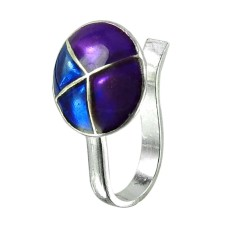 Rattling Sterling Silver Inlay Nose Pin 925 Silver Jewellery