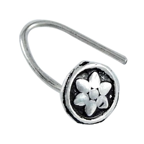 925 sterling silver Oxidised jewelry Ethnic sterling silver Nose Pin Wholesaler