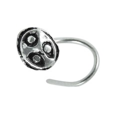 925 sterling silver antique jewelry Rare sterling silver Nose Pin
