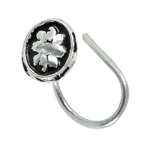 925 sterling silver Oxidised jewelry Fashion sterling silver Nose Pin Wholesale