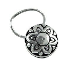 sterling silver fashion jewelry Ethnic sterling silver Nose Pin