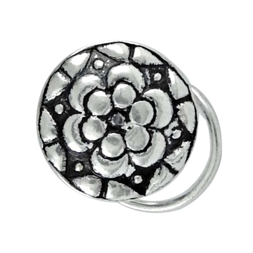 sterling silver fashion jewelry High Polish sterling silver Nose Pin Manufacturer