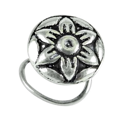 925 sterling silver jewelry Ethnic sterling silver Nose Pin