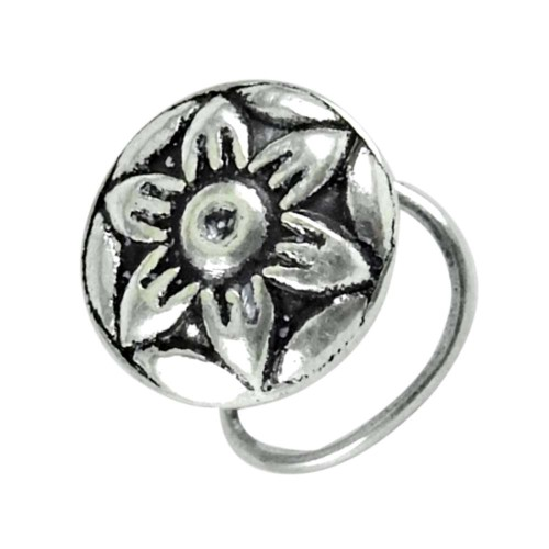 925 sterling silver fashion jewelry Traditional sterling silver Nose Pin Exporter