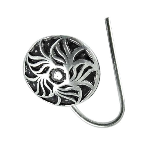 925 sterling silver fashion jewelry Beautiful sterling silver Nose Pin Lieferant