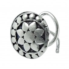 925 sterling silver indian jewelry Fashion sterling silver Nose Pin