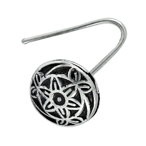 925 sterling silver Oxidised jewelry Fashion sterling silver Nose Pin