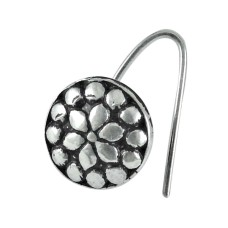 925 sterling silver Oxidised jewelry High Polish sterling silver Nose Pin