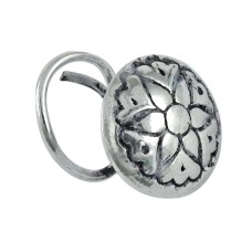 Traditional sterling silver Nose Pin 925 sterling silver antique jewelry