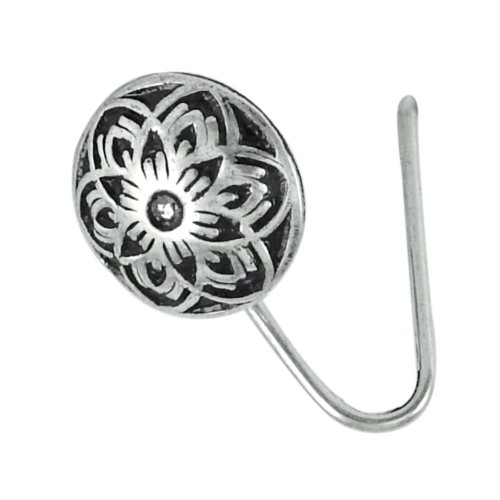 925 sterling silver antique jewelry Traditional sterling silver Nose Pin