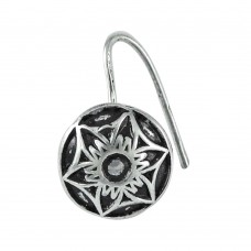 925 sterling silver indian jewelry Tribal sterling silver Nose Pin