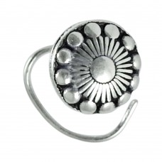 indian silver jewelry Traditional sterling silver Nose Pin