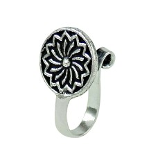 Daily Wear 925 Sterling Silver Nose Pin Indian Jewellery
