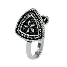 Charming 925 Sterling Silver Vintage Nose Pin Indian Jewellery
