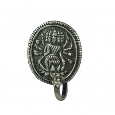 Daily Wear 925 Sterling Silver Goddess Nose Pin Jewellery