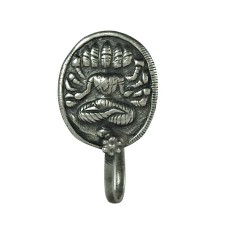 Rare 925 Sterling Silver Goddess Nose Pin Jewellery
