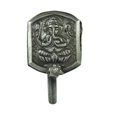 Charming 925 Sterling Silver Lord Ganesha Nose Pin Jewellery