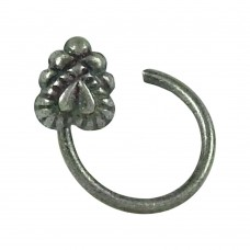 Lovely 925 Sterling Silver Indian Sterling Silver Nose Pin Indian Jewellery