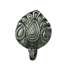 Sightly 925 Sterling Silver Indian Sterling Silver Nose Pin Indian Jewellery