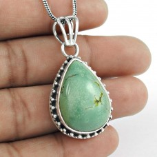 925 Sterling Silver Jewellery Beautiful Turquoise Gemstone Pendant Lieferant