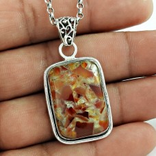 925 Sterling Silver Vintage Jewellery Fashion Fuchsite Gemstone Pendant Proveedor