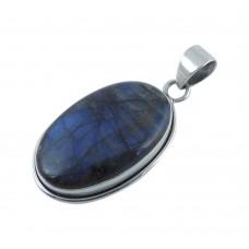 Amazing 925 Sterling Silver Labradorite Pendant