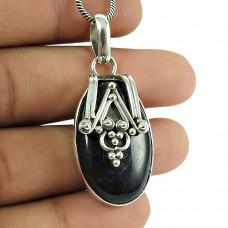 Rattling Tiger Eye Gemstone 925 Sterling Silver Pendant Jewellery