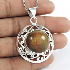 925 Sterling Silver Jewellery Charming Star Ruby Gemstone Pendant Proveedor