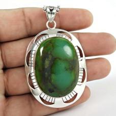 925 sterling silver gemstone Jewellery Charming Turquoise Gemstone Pendant