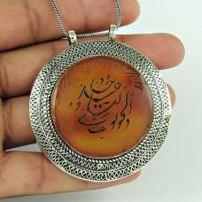 Lilac Kiss !! 925 Sterling Silver Afghan Stone Bohemian Pendant Hersteller