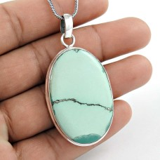 My Sweet 925 Sterling Silver Turquoise Pendant