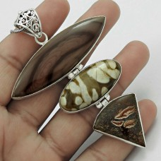 Paradise Lantern !! 925 Sterling Silver Jasper Pendant Supplier