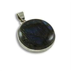 925 Sterling Silver Indian Jewellery Beautiful Labradorite Gemstone Pendant Exporter India
