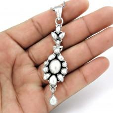 Jumbo Fantastic !! 925 Sterling Silver Pearl Pendant
