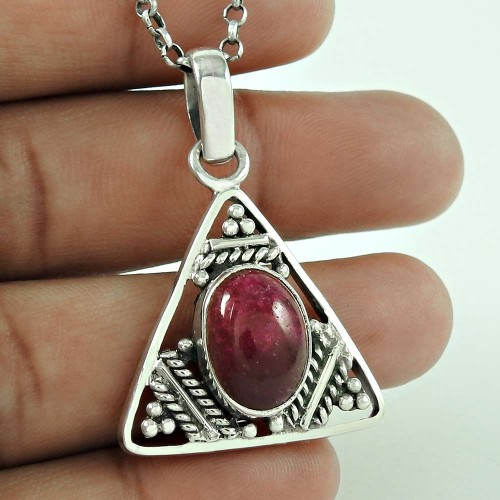 925 Sterling Silver Jewellery Fashion Toura Aventurine Gemstone Pendant Exporter India