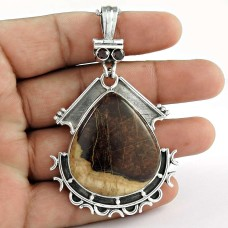 925 Sterling Silver Jewelry Rare Jasper, Garnet Gemstone Pendant Al por mayor