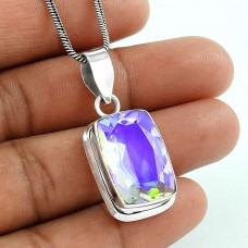 Top Quality African!! 925 Sterling Silver New Mystic Pendant