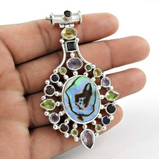 Awesome Style Of! 925 Sterling Silver Multi Pendant De gros