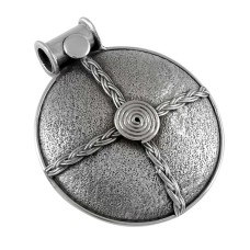 Oxidised Sterling Silver Jewellery Traditional Sterling Silver Pendant Al por mayor