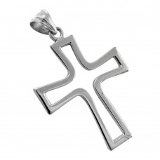 925 Sterling Silver Indian Jewellery Traditional 925 Sterling Silver Cross Pendant Mayorista